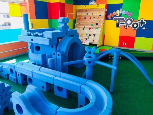 調布にある【Magical T-Pot】は雨の日も楽しく遊べる屋内の遊び場